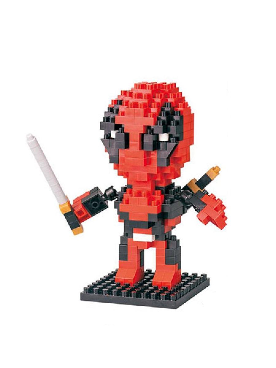 Конструктор Wisehawk & LNO Дэдпул 230 деталей NO. 253 Deadpool Gift Series