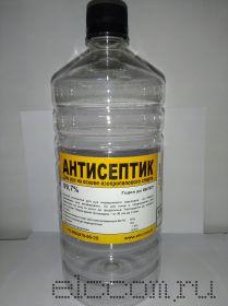 Антисептик для рук на основе изопропилового спирта (ПЭТ флакон 1л)