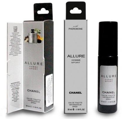 Духи с феромонами 35мл Chanel Allure Homme Sport for men