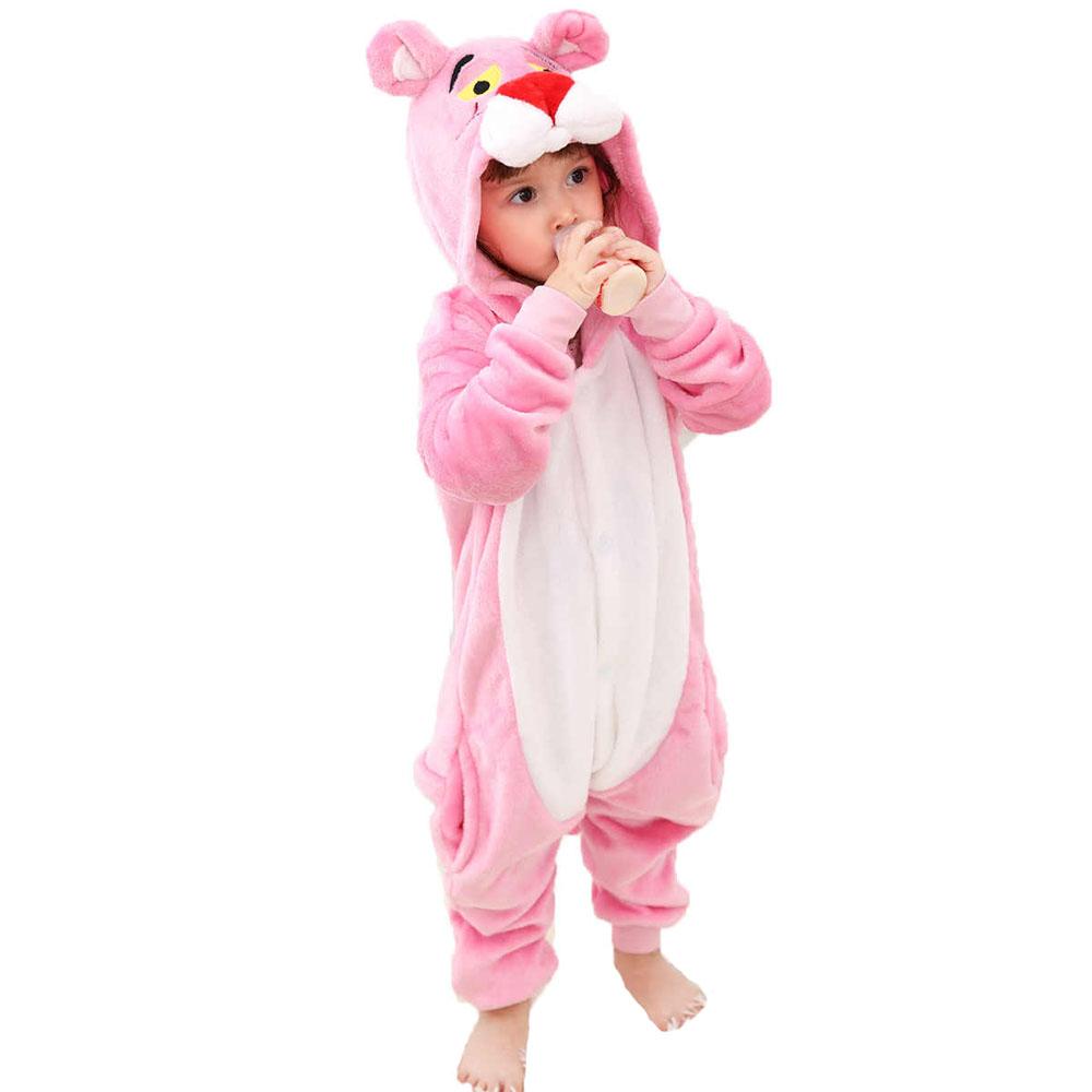 Детская Пижама Кигуруми Розовая Пантера