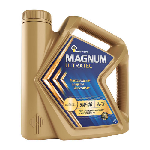 Роснефть Magnum Ultratec 5w40 SN/CF 4л