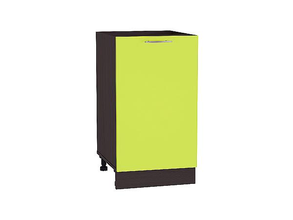 Шкаф нижний Валерия Н450 (лайм глянец)