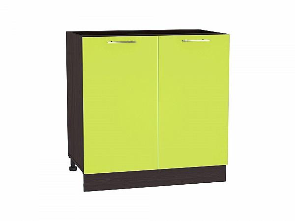 Шкаф нижний Валерия Н800 (лайм глянец)