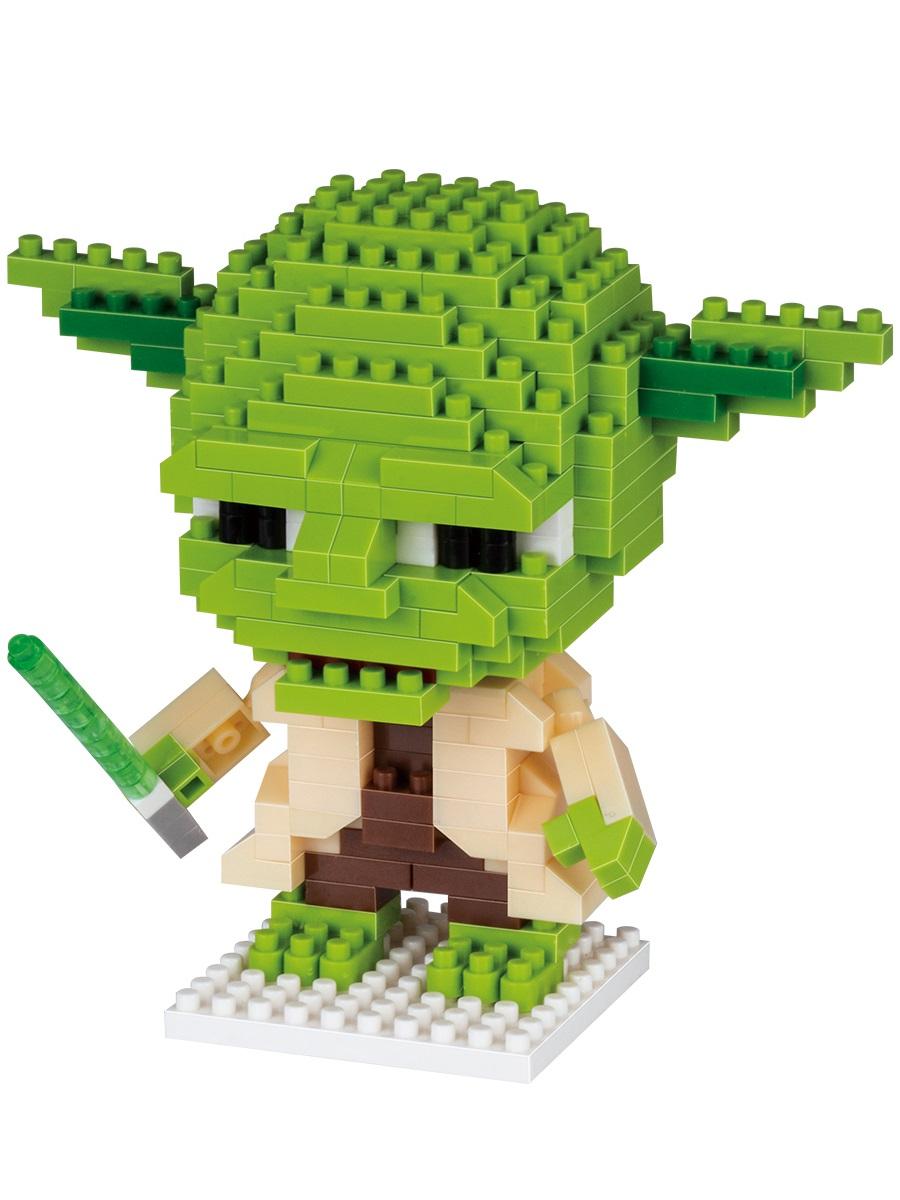 Конструктор Wisehawk & LNO Мастер Йода 267 деталей NO. 121 Yoda Gift Series