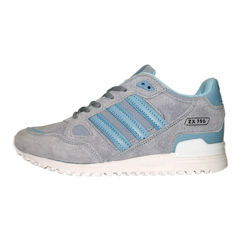 Кроссовки Adidas ZX 750 Grey Light Blue