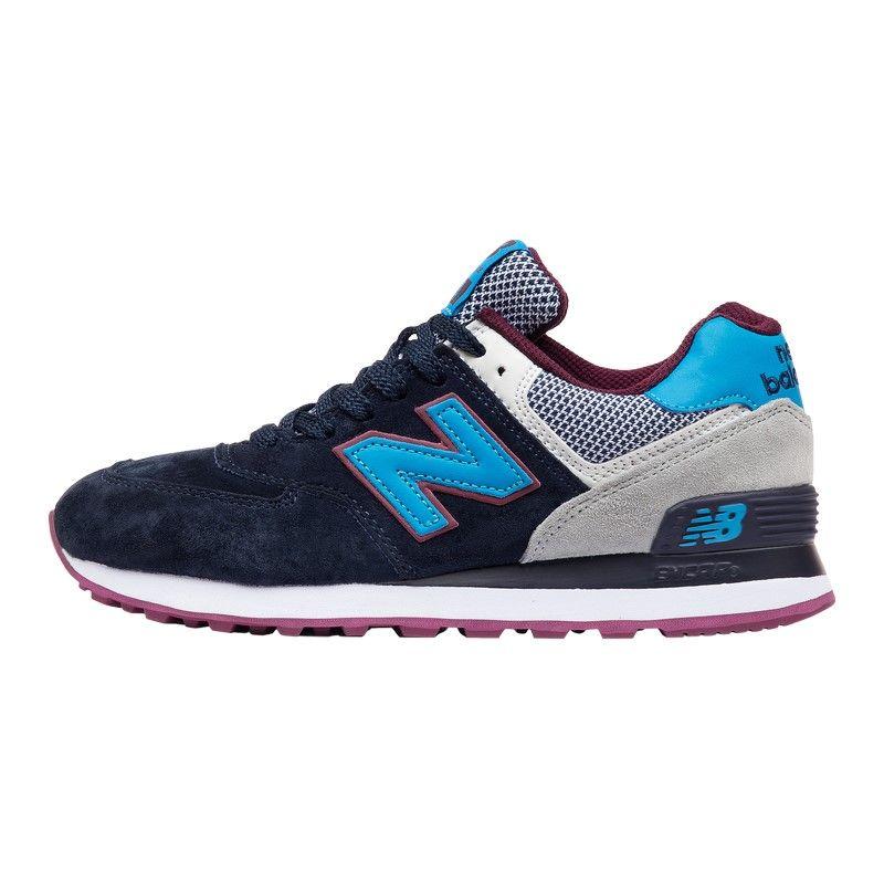 Кроссовки New Balance 574 WL сине-голубые