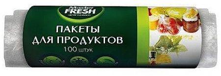 Пакеты д/продуктов Мастер фреш 100шт а2559