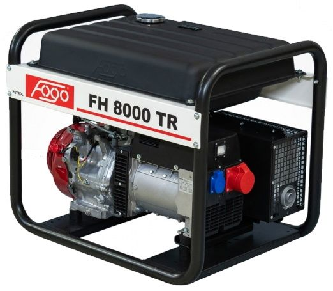 Бензиновый генератор Fogo FH8000 TR (AVR)
