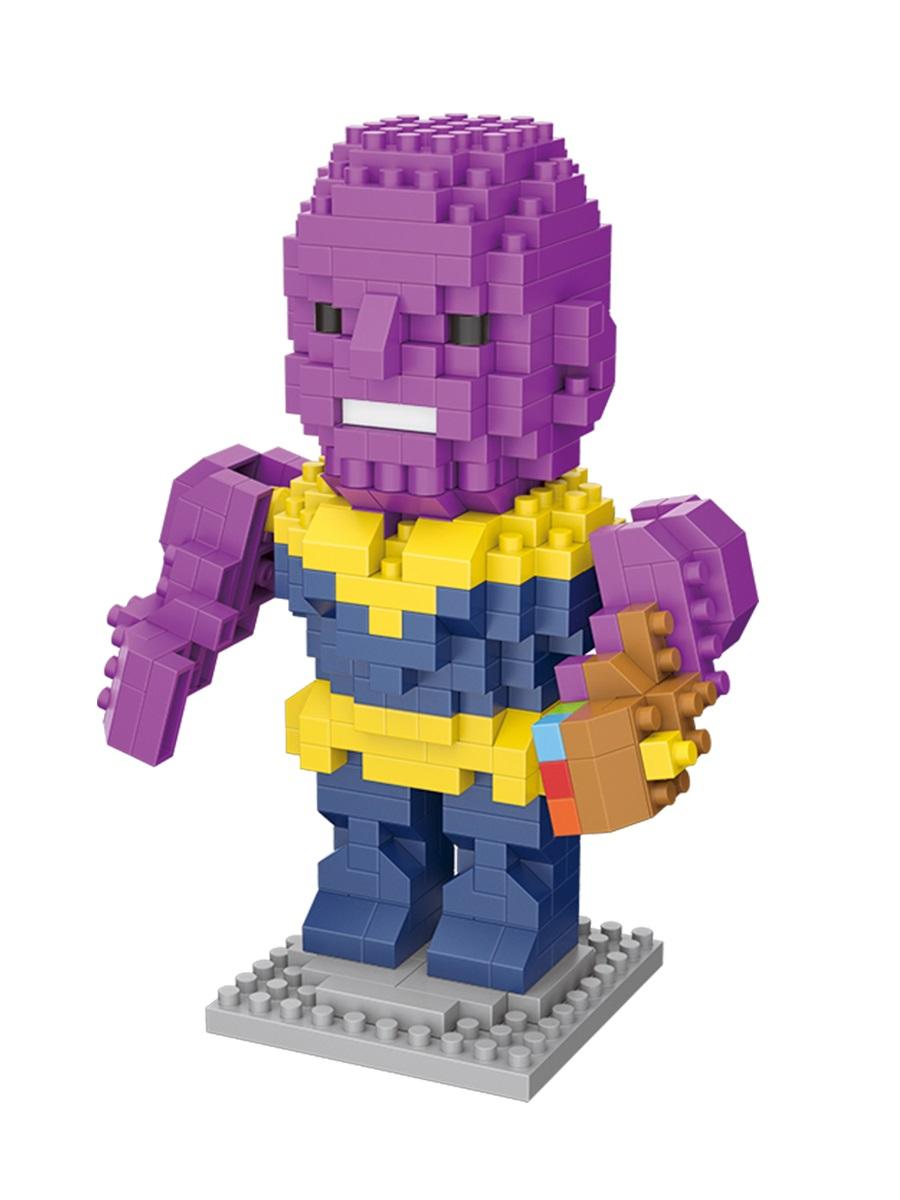 Конструктор Wisehawk & LNO Танос (Безумный Титан) 315 деталей NO. 2542 Thanos Gift Series