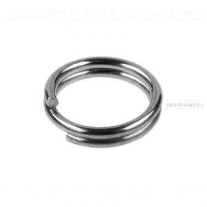 Кольца Заводные Sprut SR-01 SN #7/15кг (Split Ring Silver Nickel) упаковка 16шт