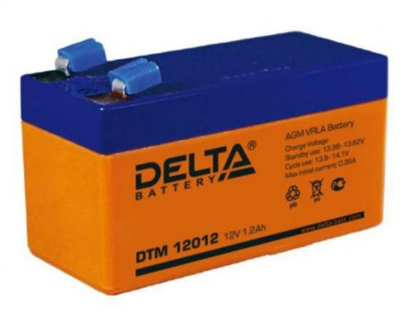 Батарея аккумуляторная Delta DTM 12012