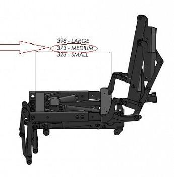 Готовые модули для коляски система вертикализации и наклона сиденья в пространстве 45 градусов