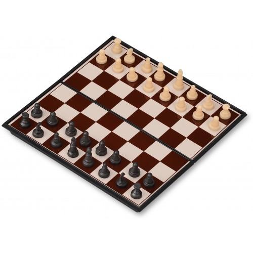 Набор 3 в 1 магнитный 3108/G187 (нарды, шахматы, шашки) 13x13см