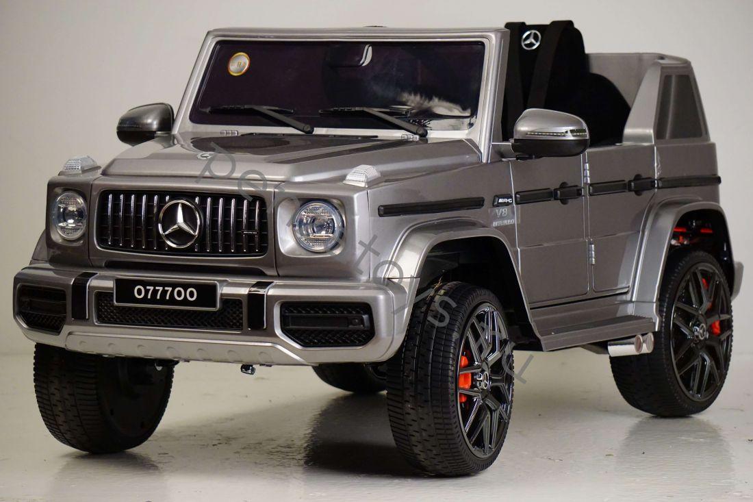 Электромобиль детский Mercedes-Benz G63 O777OO ЛИЦЕНЗИЯ