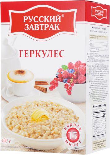 Gerkules Russkiy zavtrak 400 gr 15 deyge
