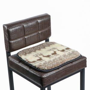Накидка на сиденье двухсторонняя, тип 5, овчина 65%, 40 х 40 см