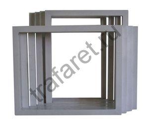 Рама алюминиевая 586х686 мм. (профиль 28х43х1,4 мм.)