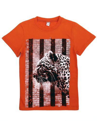 Футболка для мальчиков 8-12 лет Bonito оранжевая