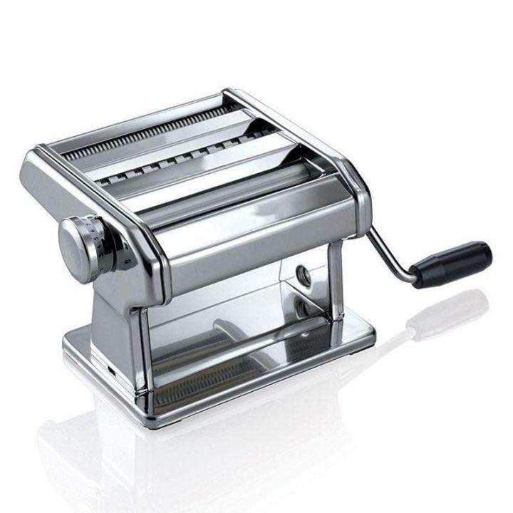 Машинка ручная для раскатки теста и нарезания лапши Ampia 150