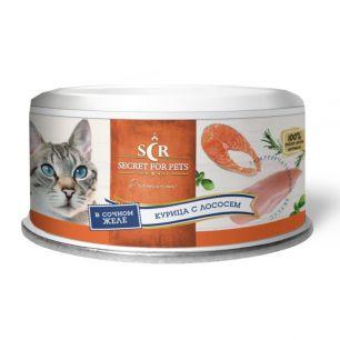SECRET Premium Курица с лососем в желе