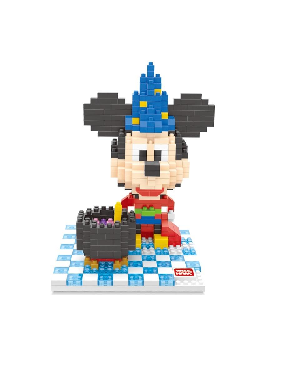 Конструктор Wisehawk & LNO Волшебник Микки Маус 508 деталей NO. 2369 Magician Mickey Mouse mini blocks