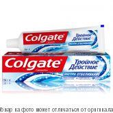 """COLGATE.Зубная паста """"Тройное действие Экстра отбеливание"""" 100мл, шт"""
