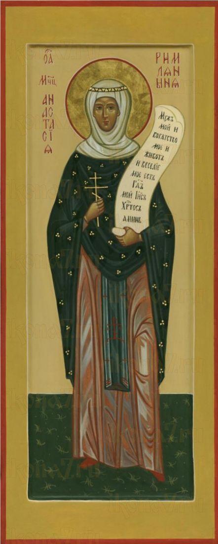Икона Анастасия Римляныня мученица
