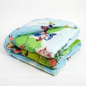 Одеяло, размер 110х140 см, шерсть/полисатин   4315610