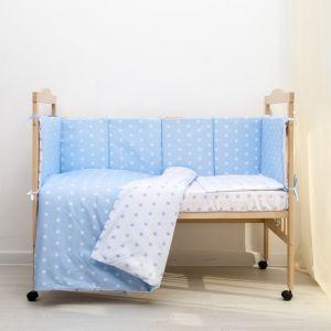 """КПБ """"Ноченька"""", цвет голубой, бязь хл100% 3837534"""