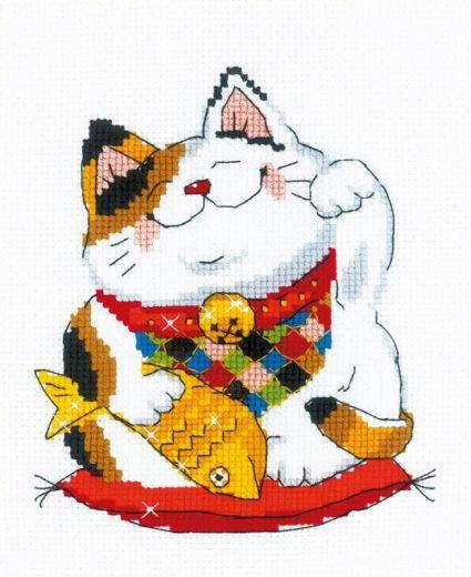 Набор для вышивания крестом На удачу №1814 фирма Риолис