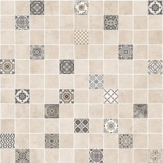 5032-0291 Керамогранит декор мозаика Астрид 30х30 кофейный