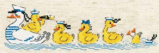 Набор для вышивания бисером По морям, по волнам №1865 фирма Риолис