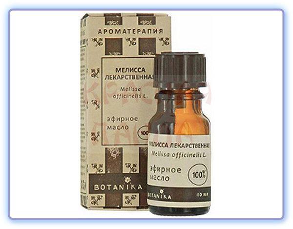 Эфирное масло Мелиссы лекарственной Botavikos