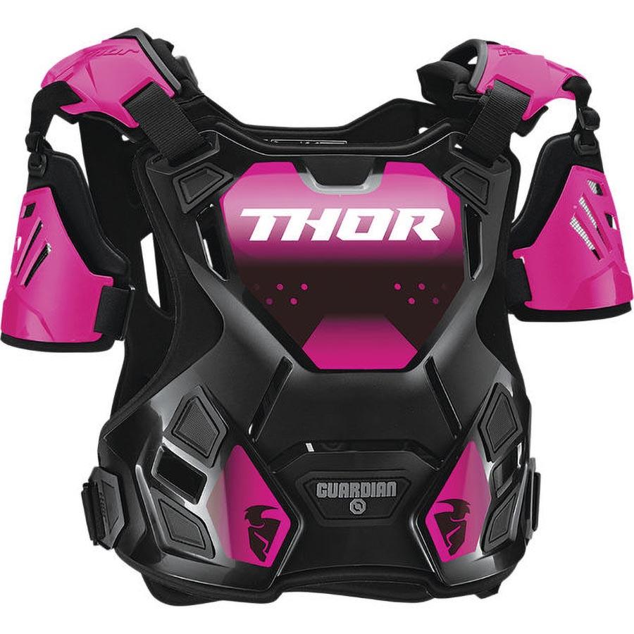 Thor Guardian Women's Black/Pink защитный жилет женский, черно-розовый