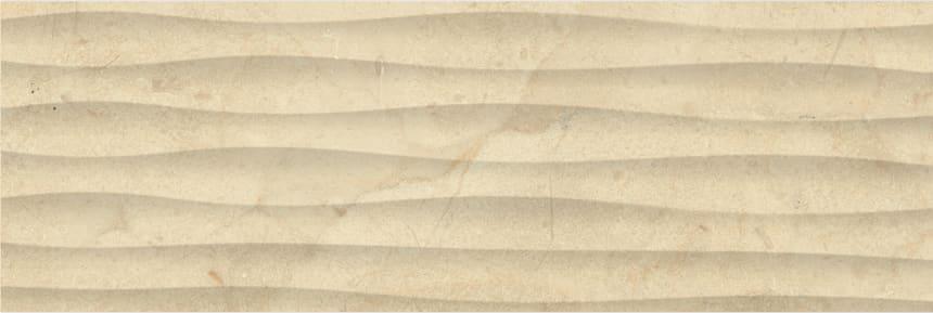 1064-0160 Настенная плитка Миланезе Дизайн 20х60 крема волна