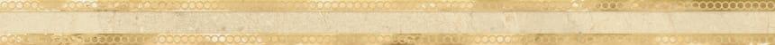 1506-0421 Бордюр настенный Миланезе Дизайн 3,6х60 римский крема