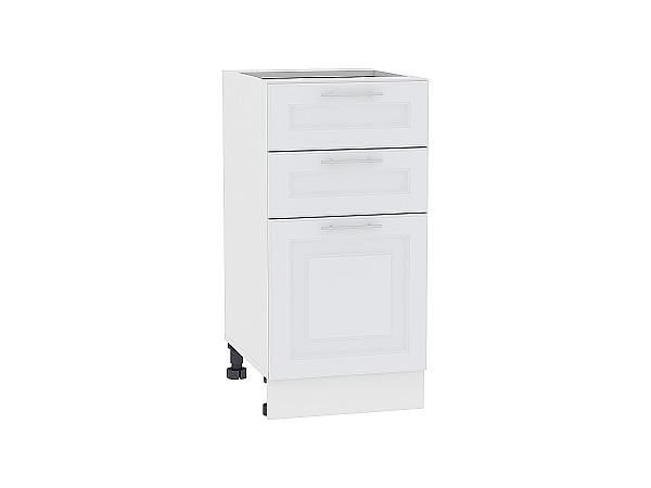 Шкаф нижний Ницца Royal Н403 (Blanco)