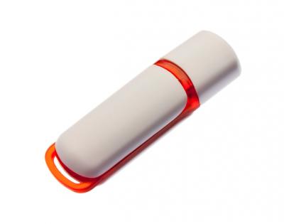 2GB USB-флэш накопитель UsbSouvenir 235, белая-красная