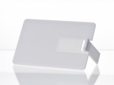 64GB USB3.0-флэш накопитель UsbSouvenir U504E кредитная карточка белая