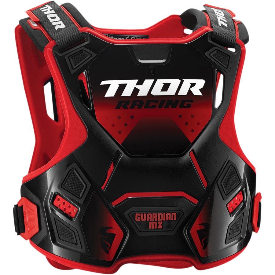 Thor Guardian MX Black/Red защитный жилет, черно-красный