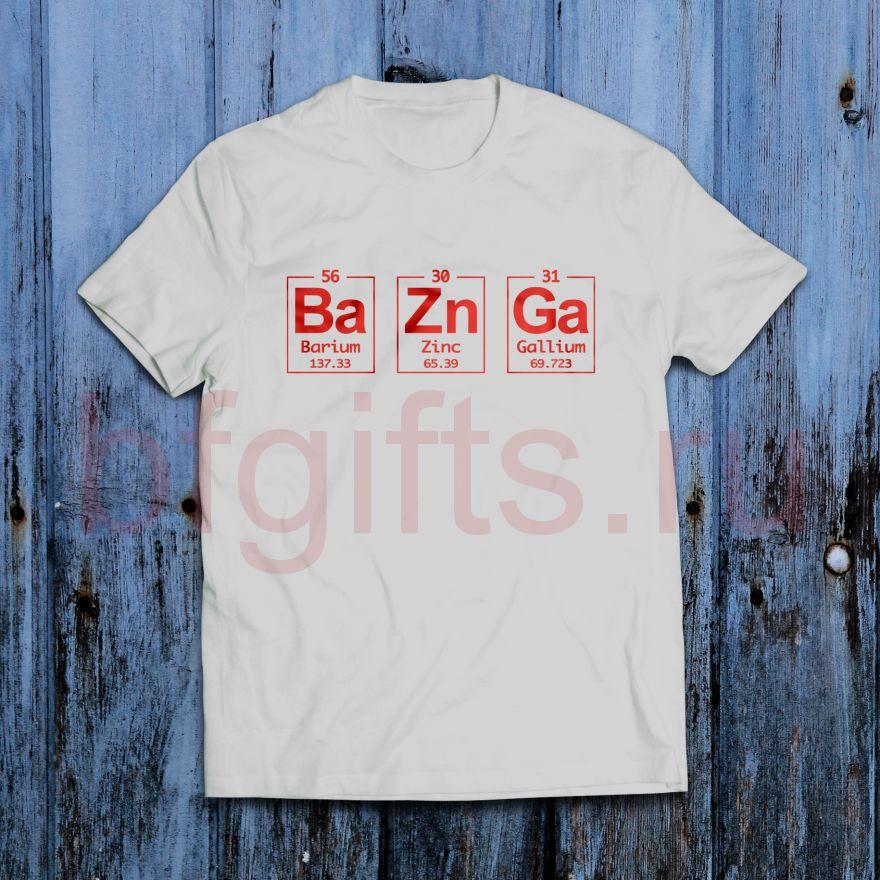 Футболка BaZnGa
