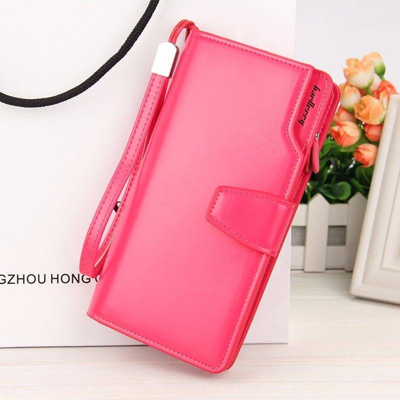 Кошелёк Woman Baellerry Wallet Pu Clutch Bag, Цвет Красный
