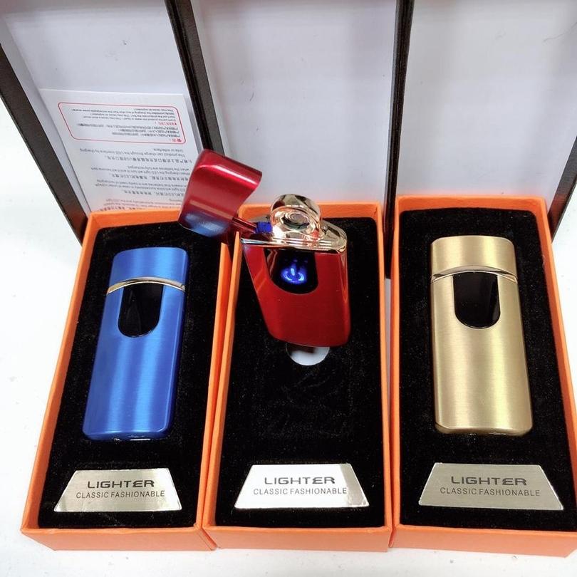 Сенсорная зажигалка Lighter Classic Fashionable (USB)