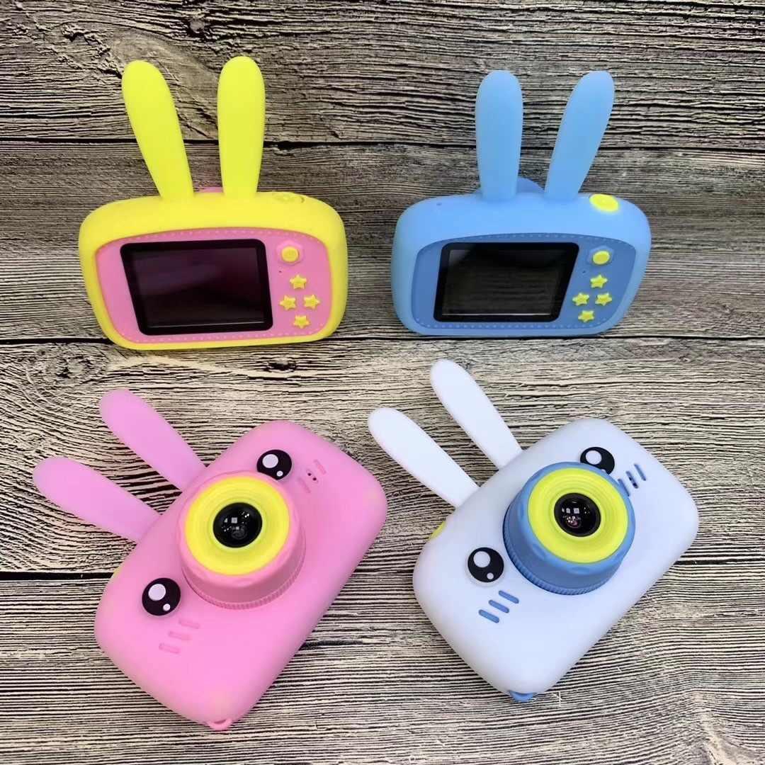 Детская цифровая камера GSMIN Fun Camera Зайчик