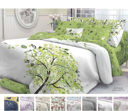 """Постельное белье """"Verossa Constante"""" Перкаль Роял 1,5-спальный комплект (наволочки 50х70)"""