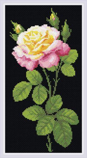 Набор для выкладывания стразами Дивный цветок АМ0024 фирма Риолис