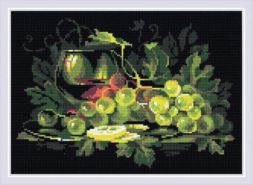 Набор для выкладывания стразами Натюрморт с лимоном АМ0026 фирма Риолис