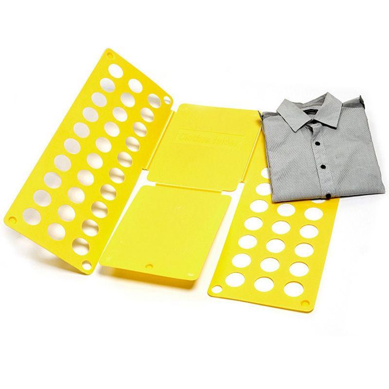 Рамка Для Складывания Взрослой Одежды Clothes Folder, Цвет Желтый