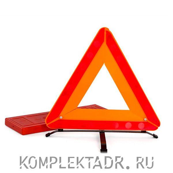 Знак аварийной остановки нового образца