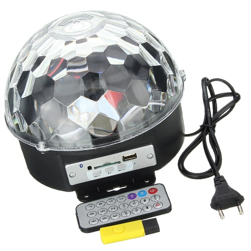 Светодиодный диско-шар Led Crystal Magic Ball Light